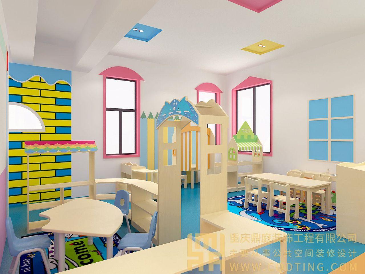 重庆幼儿园装修/幼儿园设计/幼儿园规划/幼儿园效果图