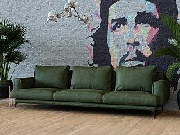 旧的沙发模型做的渲染练习