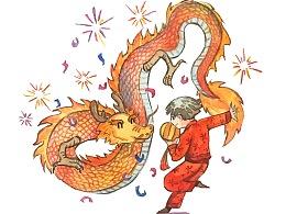 十二生肖水彩插画