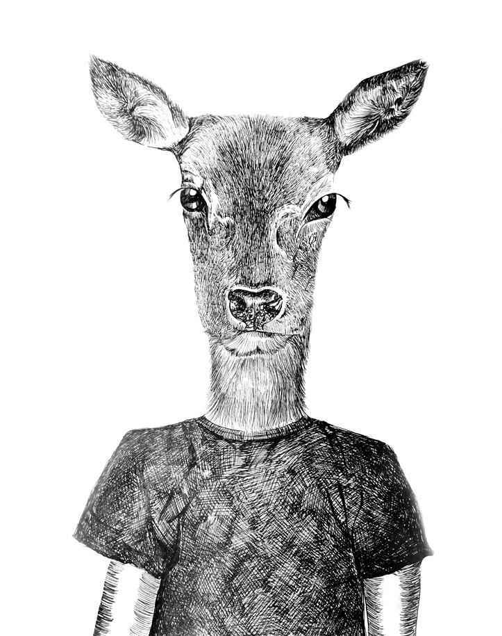 查看《《保护动物》系列 yjk-钢笔画 》原图,原图尺寸:723x915