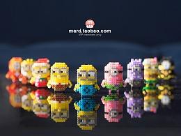 MARD拼豆原创-小黄人