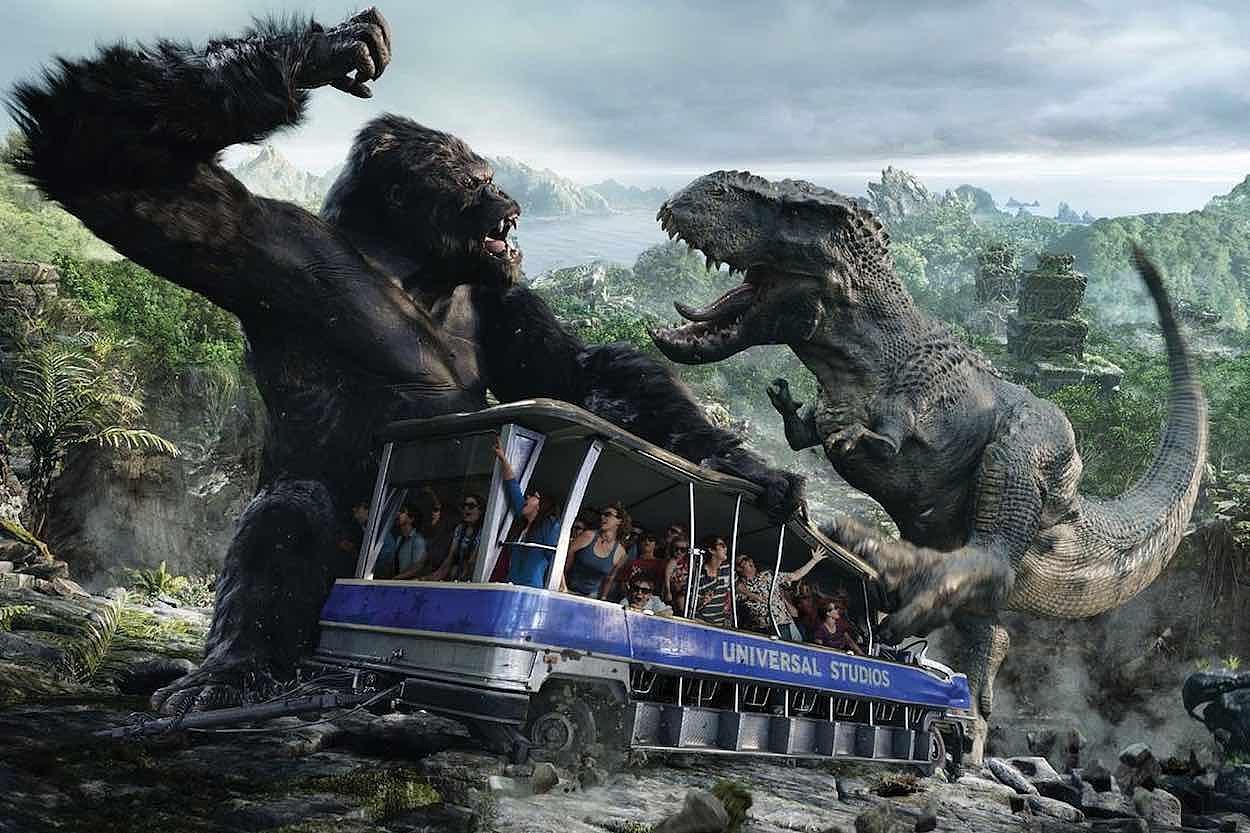 恐龙世界_这里的恐龙更吓人,3d全景逼真还原侏罗纪世界