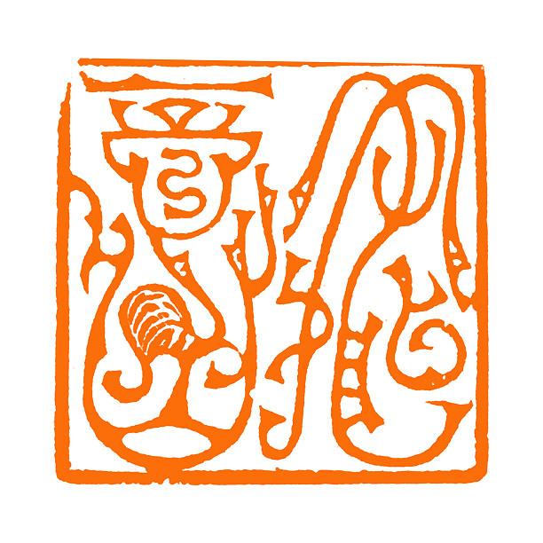 【材质】:青田石 【风格】:鸟虫篆 【双木堂篆刻简介】 中国书画篆刻图片
