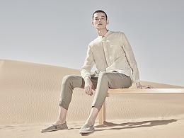 沙漠服装片修图