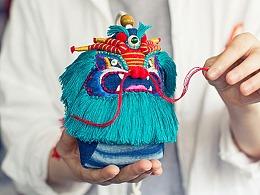 东方青龙化身端午香囊送祝福,纯手工刺绣天然艾草香包
