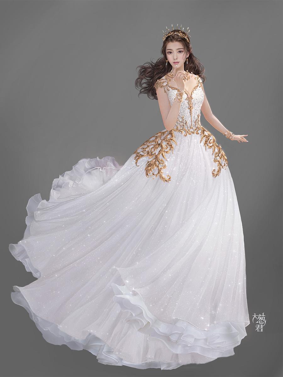 查看《黎明公主》原图,原图尺寸:1100x1466