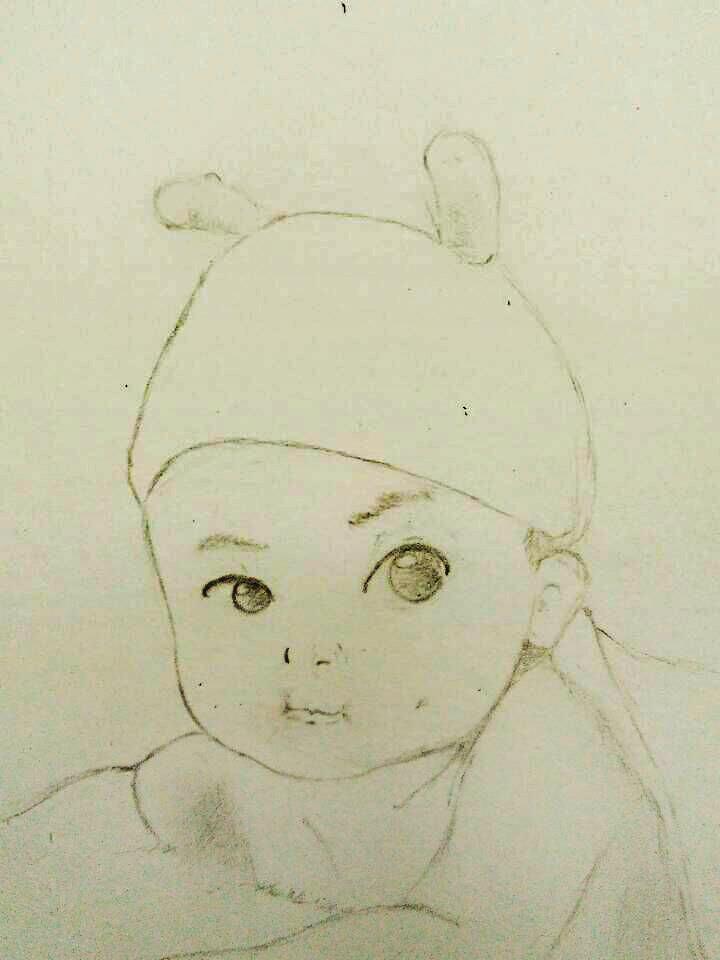 铅笔人物手绘