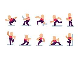 Ai制作10种常见的人物姿势