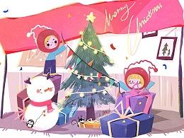 圣诞节快乐,哈哈