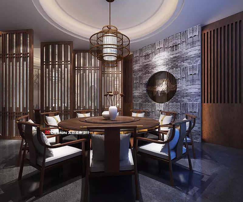贵阳墨府民居餐厅音乐v民居傣族古风建筑设计ppt图片