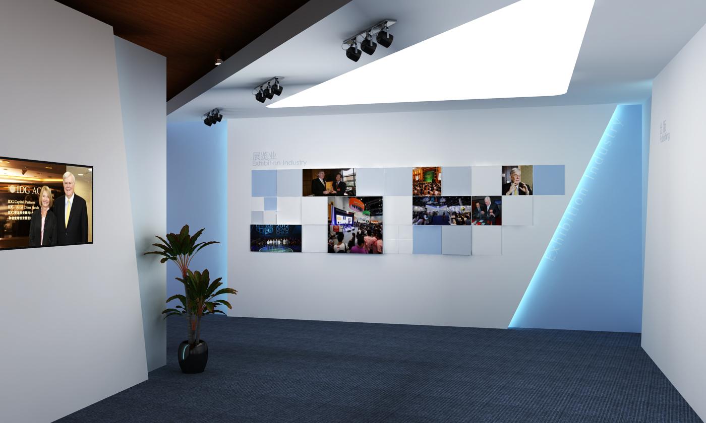 人物纪念展厅效果图|空间|展示设计 |毕文杰 - 原创