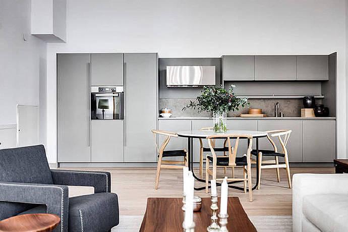 82m瑞典現代公寓,溫暖而舒適的極簡主義