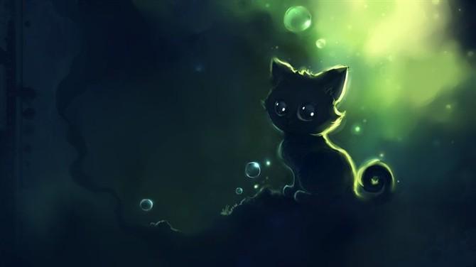 原创作品:小黑猫