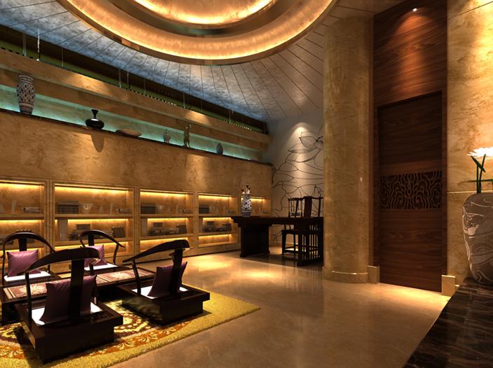 绵阳特色茶楼会所|室内设计|空间/建筑|成都装饰咨询