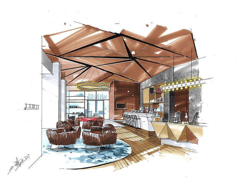 室内设计|三维|建筑/空间|爱手绘大禹 - 原创作品