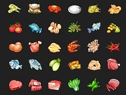美食游戏图标ICON设计