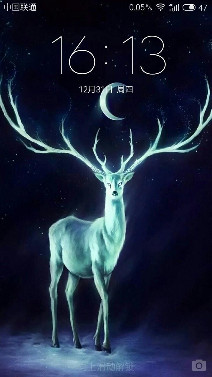 麋鹿精灵图片