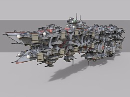 S-35宇宙巡洋舰机械设定摸鱼