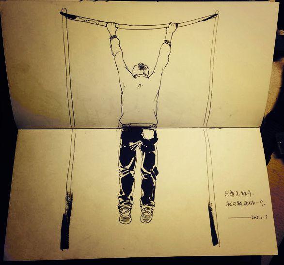 原创作品:手绘心情日记
