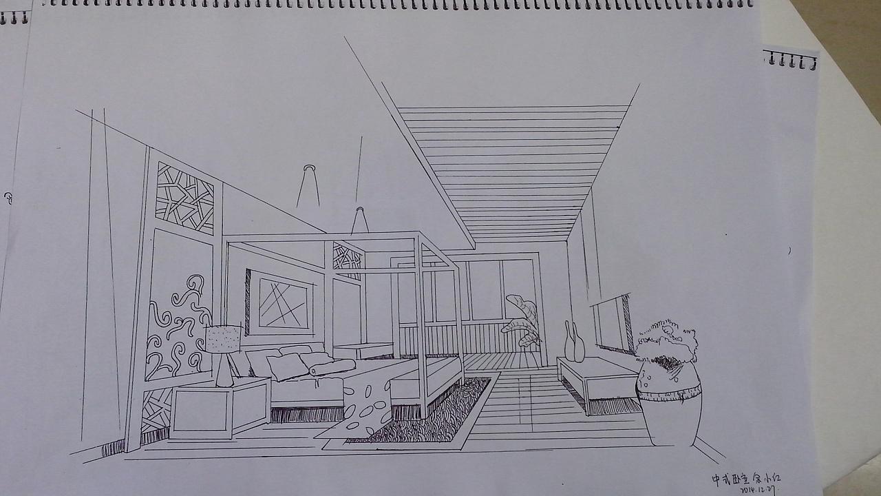 室内手绘图片