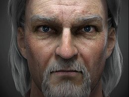白发的老者