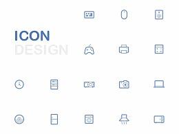 三种风格icon练习