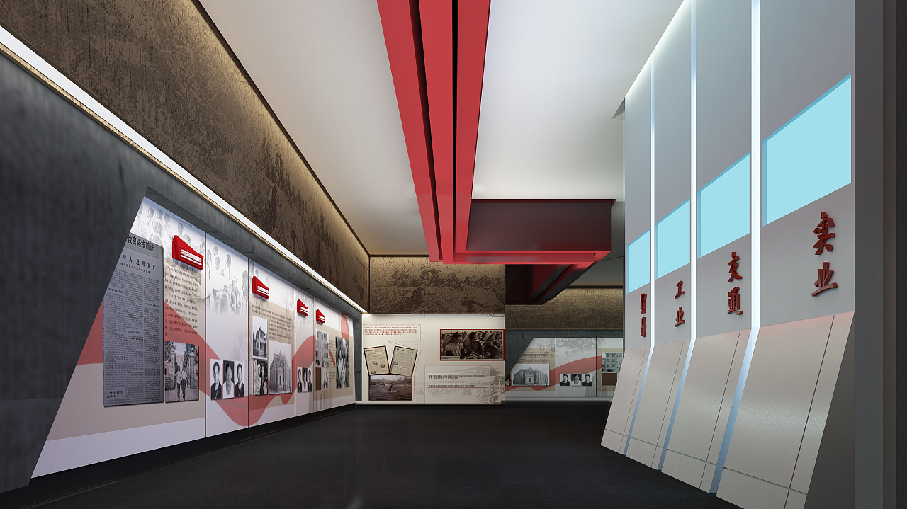 2016·山东某展览馆概念方案·部分|空间|展示设计图片