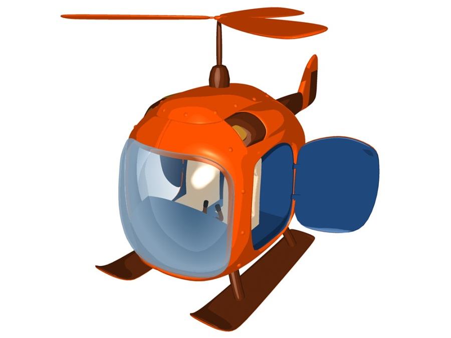 舒克的私人飞机 贝塔的专属座驾|机械/交通|三维|rick