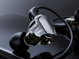 耳机产品渲染
