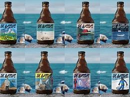 系列啤酒标贴设计