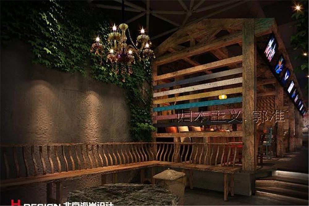 北京烤空间功夫设计案例|餐饮|室内设计|海岸设计深圳市恒艺美广告设计制作有限公司图片