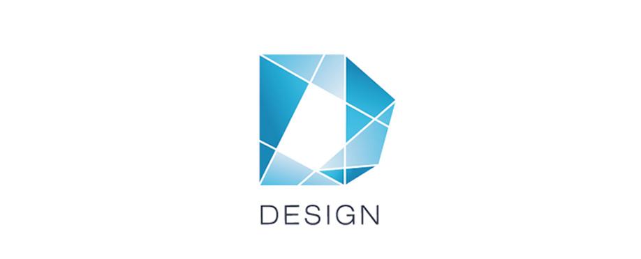 字母d的logo设计练习图片