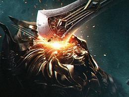 legend of blade 概念海报