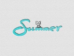 夏天艺术中心logo设计