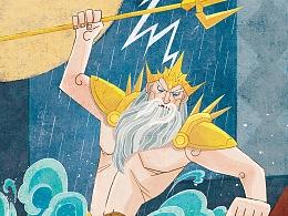 希腊故事插图