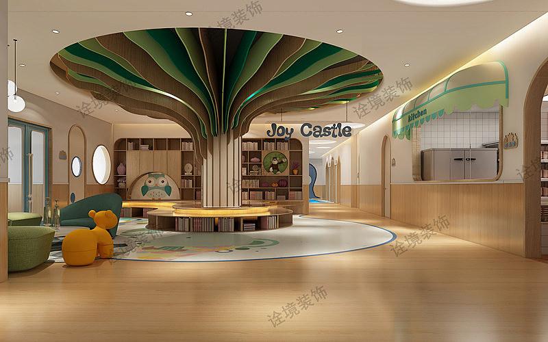 西安工装设计图_西安名京九合院幼儿园设计图|空间|室内设计|工装之家装修网 ...