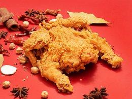 炸鸡摄影 | 餐饮