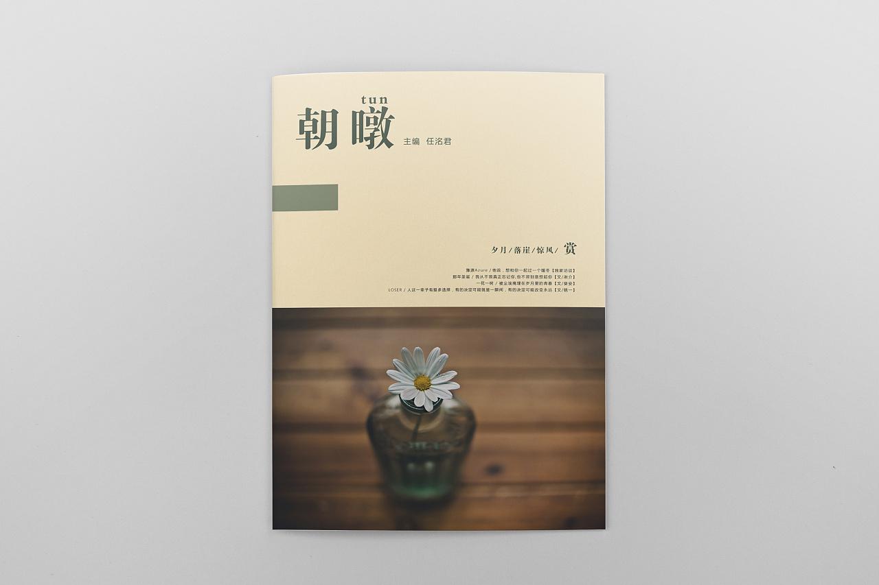 文艺古典杂志封面