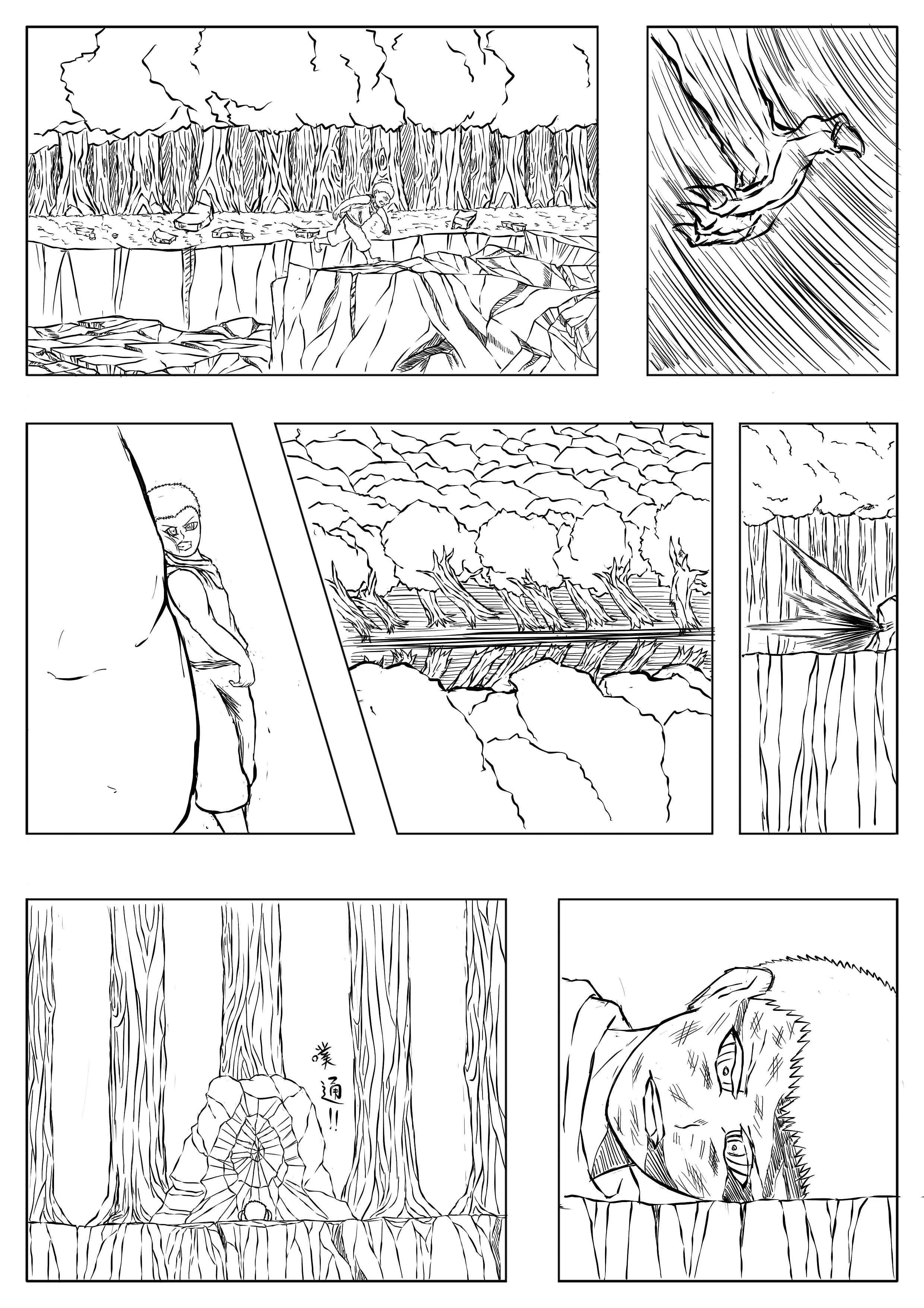 乐酷网_原创漫画分镜 动漫 中/长篇漫画 刘嘉乐 - 原创作品 - 站酷 (ZCOOL)