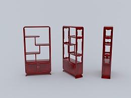 家具设计3D模型图