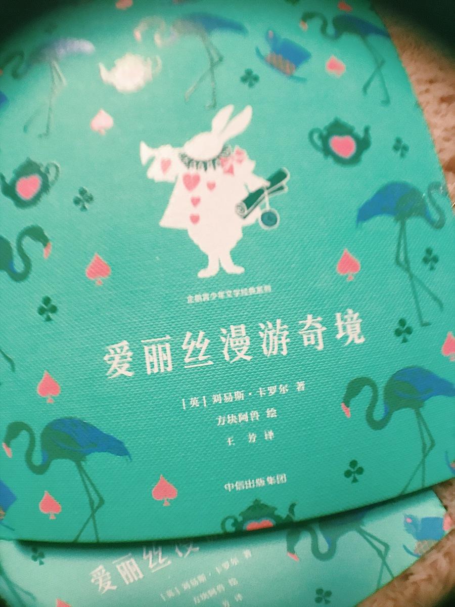 查看《企鹅青少年文学经典《爱丽丝漫游仙境》》原图,原图尺寸:2268x3024