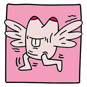 猪蹄图片可爱卡通