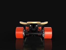 便携式电动滑板设计
