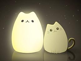 萌猫呼吸灯广告视频