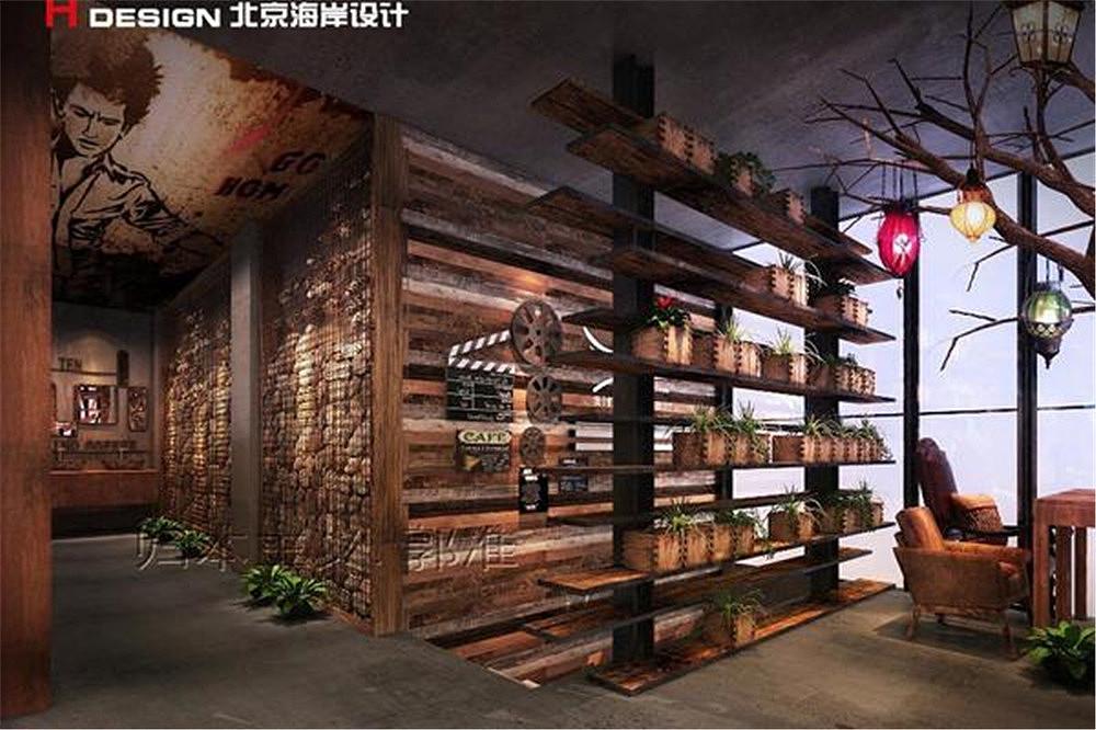 海南北京餐饮之翼案例设计作品三亚海岸设计平面设计基础的咖啡分析图片
