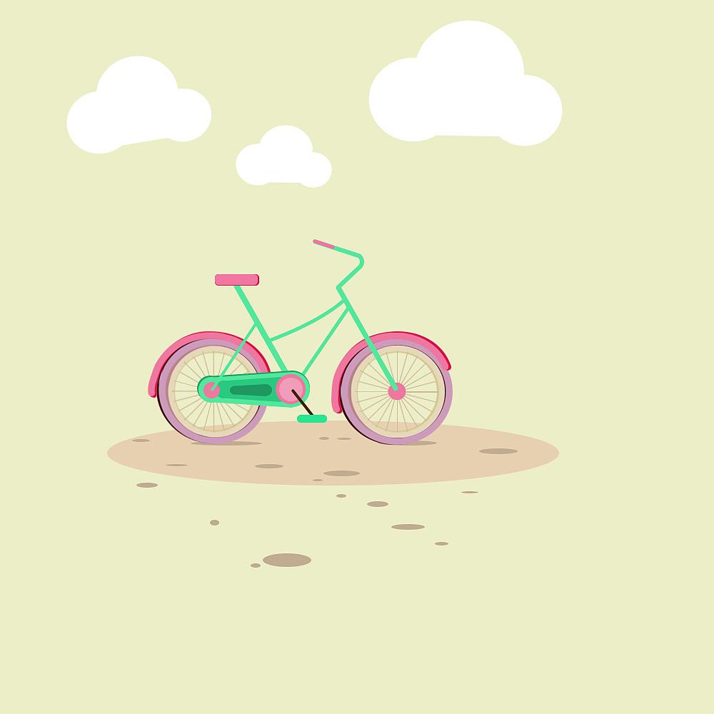 立体橡皮泥手工制作大全自行车
