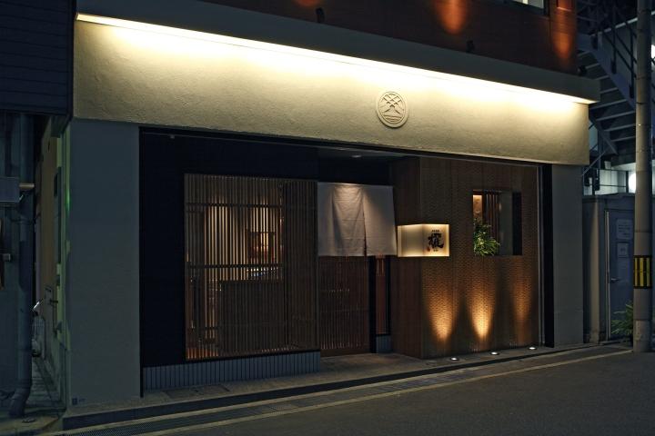 个旧餐厅设计丨日式料理餐厅设计装修|室内设计|空间
