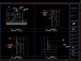 警使馆展厅施工图案例