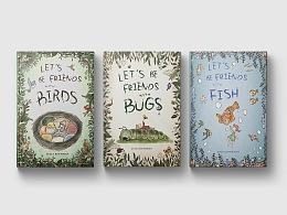 Children's field guide book sleeve