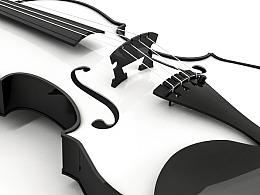 小提琴-C4D练习